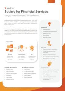 Squirro Financial Services Datasheet